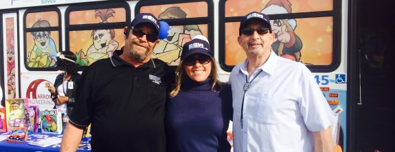 CCW Sponsors AVTA's Stuff-a-Bus