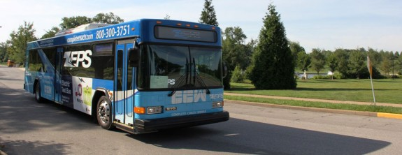 It's Electric! Metro Test Drives Electric Bus in Forest Park
