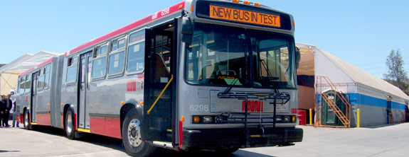 San Francisco MUNI Bus Rehab is Underway